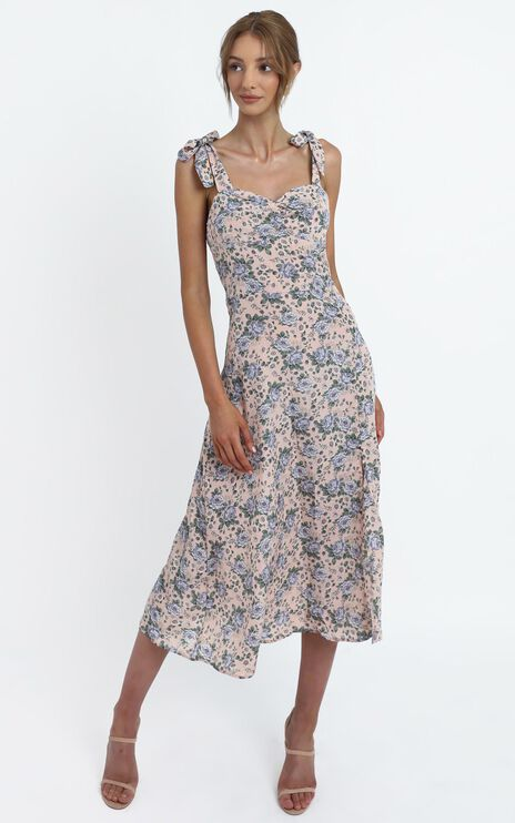 Akiva Dress in Blush Floral