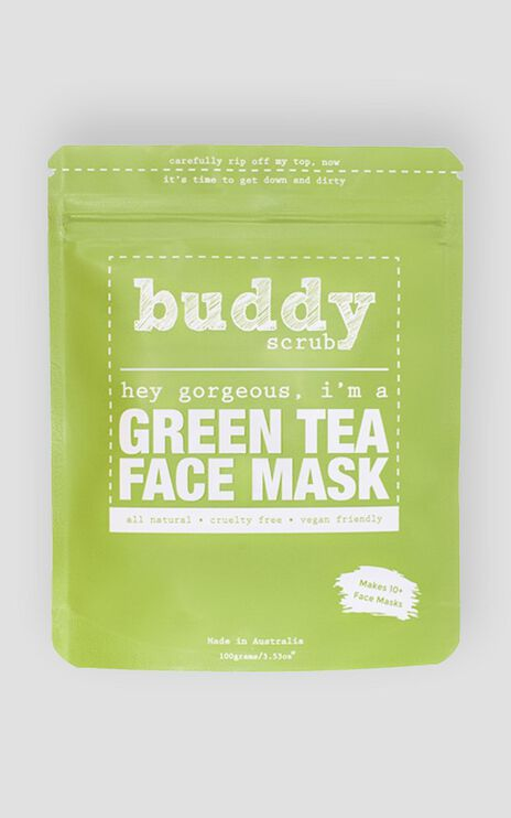 Buddy Scrub - Green Tea Face Mask