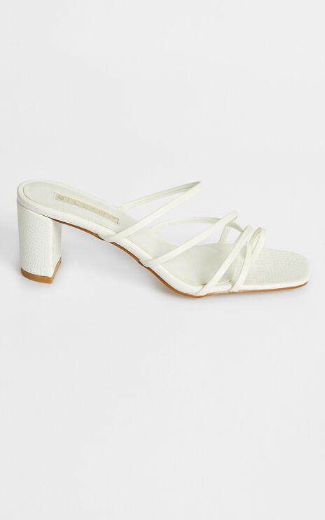 Billini - Magda Heels in White
