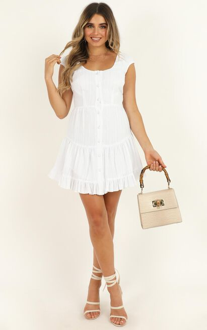 A Strange Affair Dress in white - 14 (XL), White, hi-res image number null