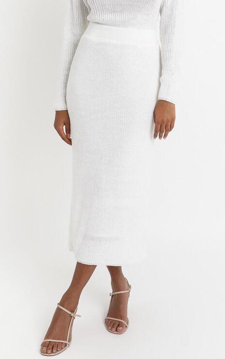 Edwynna Skirt in White