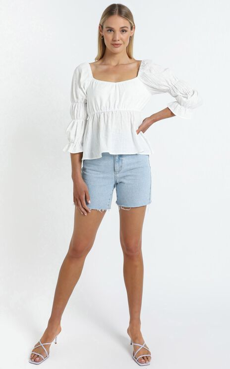 Mullins Top in White