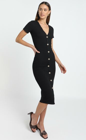 Derora Dress in Black