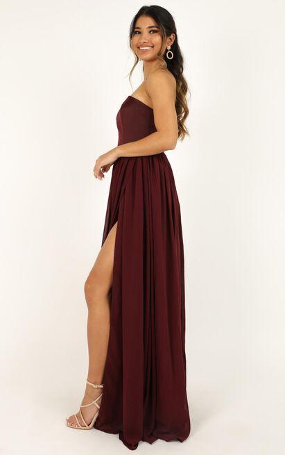 Love Bound Maxi Dress  in wine - 20 (XXXXL), Wine, hi-res image number null