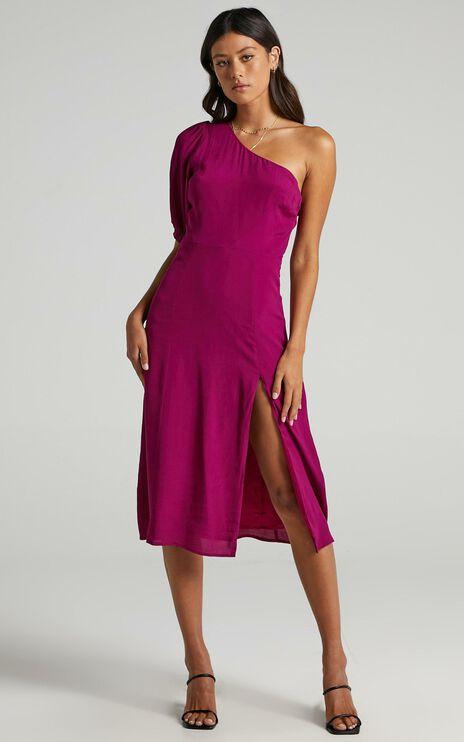 Tatiana Dress in Mulberry