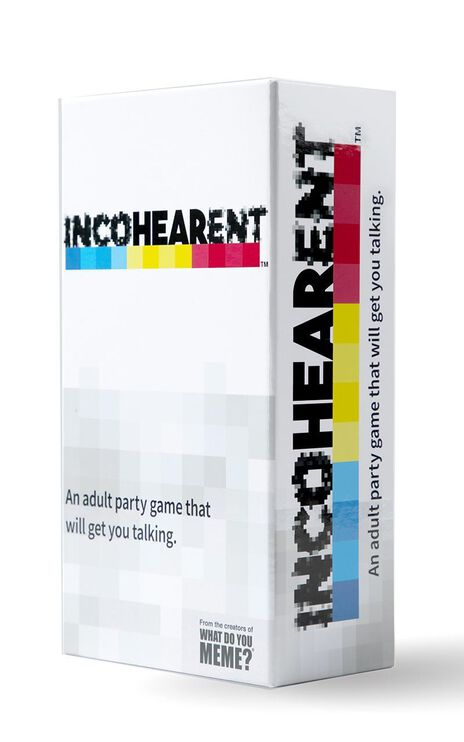 Incohearent Party Card Game