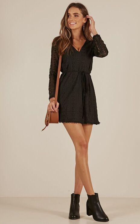 Your Best Self Dress In Black