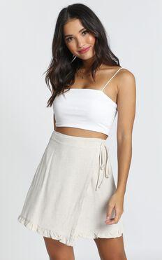Part Of Me Skirt In Beige