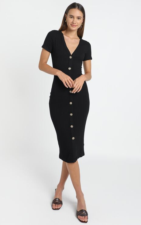 Derora Dress in Black