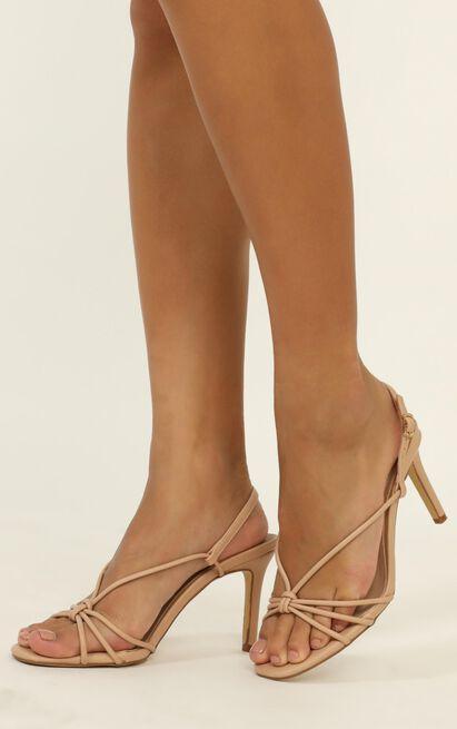 Billini - Janie heels in nude - 10, Beige, hi-res image number null