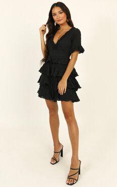 Big Move Dress In Black