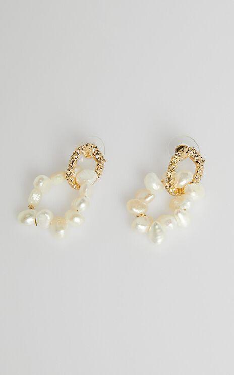More Than Words Earrings in Pearl