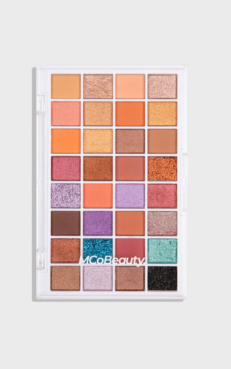 MCoBeauty - The Beauty Edit Mega Eyeshadow Palette