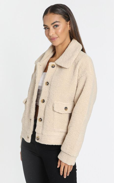 Elena Jacket in Beige