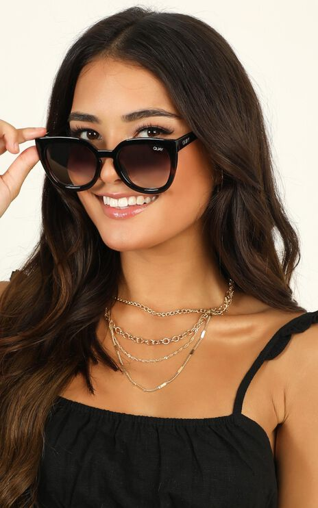 Quay - Noosa Sunglasses In Black And Tort