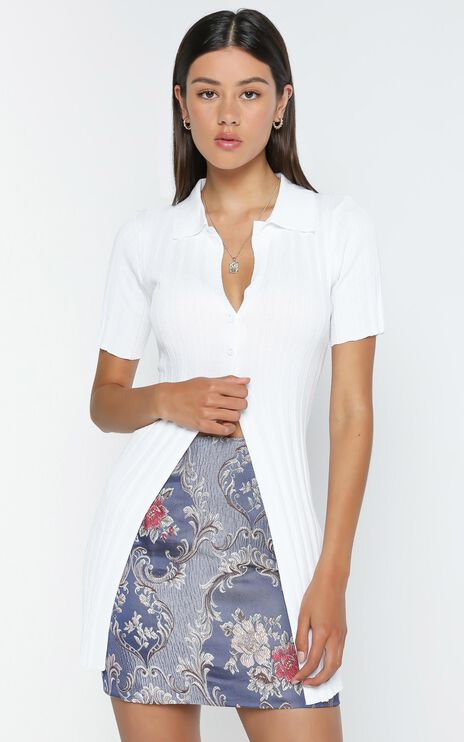 Lioness - Silverlake Cardi Top in White