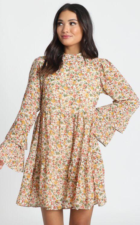 Argentina Dress In Multi Floral