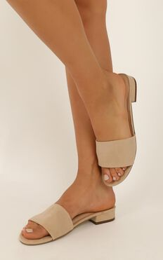 Therapy - Maisie Sandals in nude micro