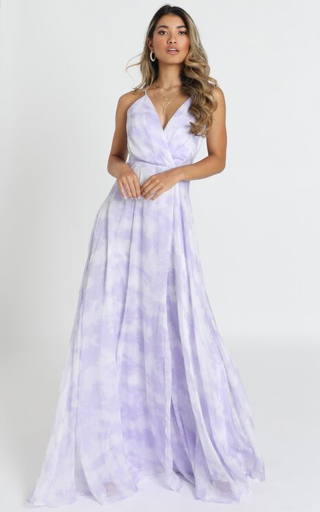 Cora Maxi Dress In Lavender