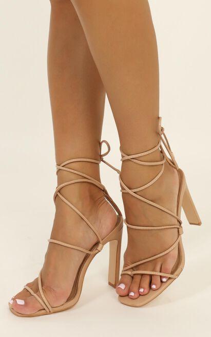 Billini - Indira heels in nude - 10, Beige, hi-res image number null