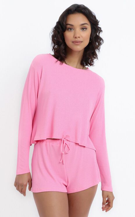 Kallan Top in Pink