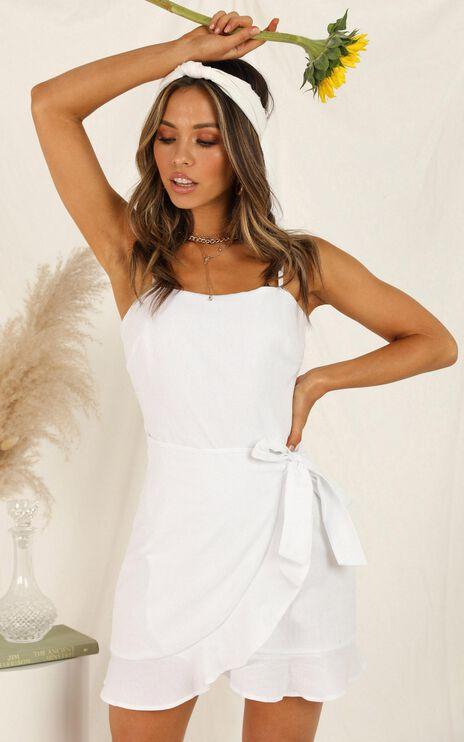 Studio Sound Dress In White