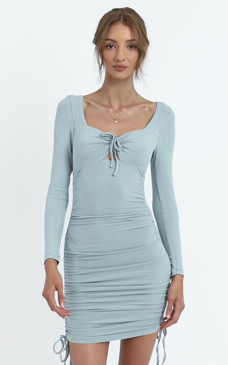 Reynolds Dress in Sage