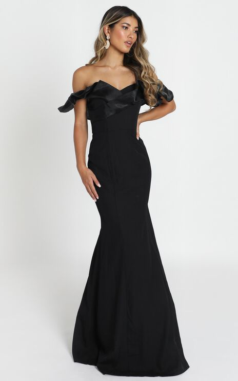 Madelyn Maxi Dress In Black