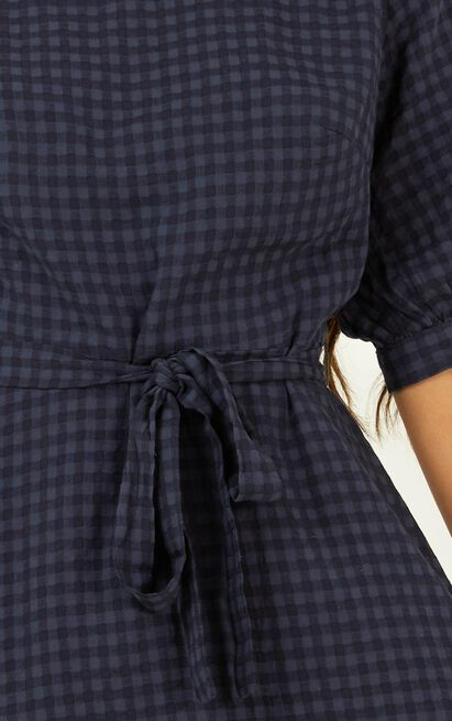 Constant Search Dress in navy - 20 (XXXXL), Navy, hi-res image number null
