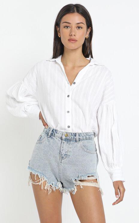 Lennon Shirt in White