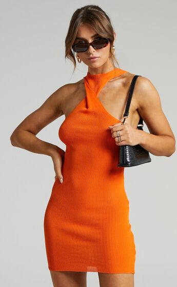 Lioness - Sonny Mini Dress in Orange