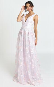 Detroit Maxi Dress In Lavender