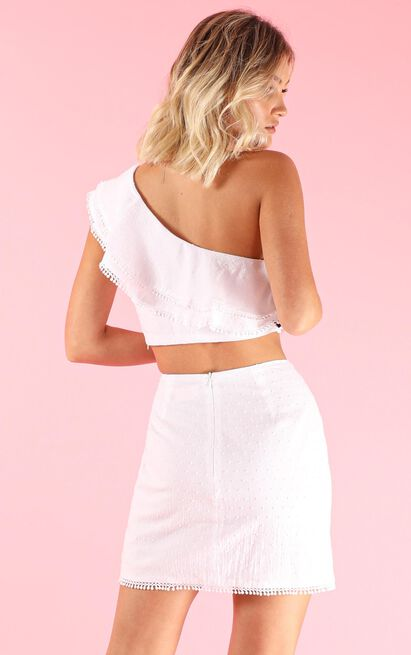 Get Your Groove On Two Piece Set In white - 20 (XXXXL), White, hi-res image number null