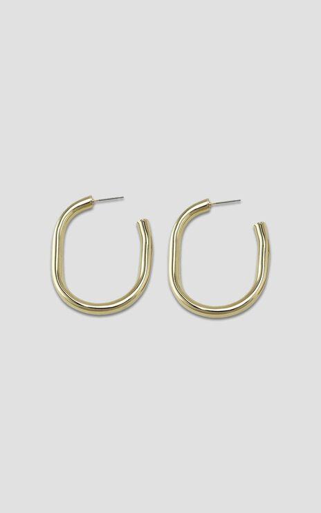 Jolie & Deen - Jourdan Hoop Earrings in Gold