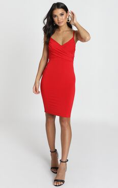 Happy Lies Dress In Red