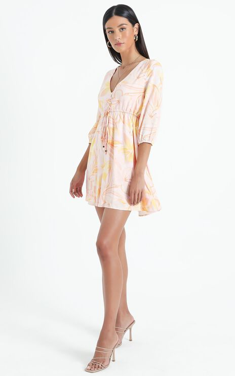 Ronda Dress in Summer Floral