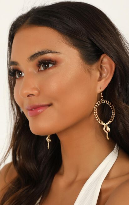 Bright Ideas Earrings In Gold, , hi-res image number null