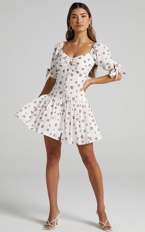 Acis Dress in Blush Floral