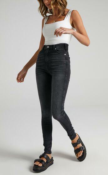 Dr Denim - Moxy Jeans in Black Mist