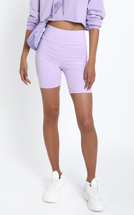 Nerida Bike Shorts in Lilac