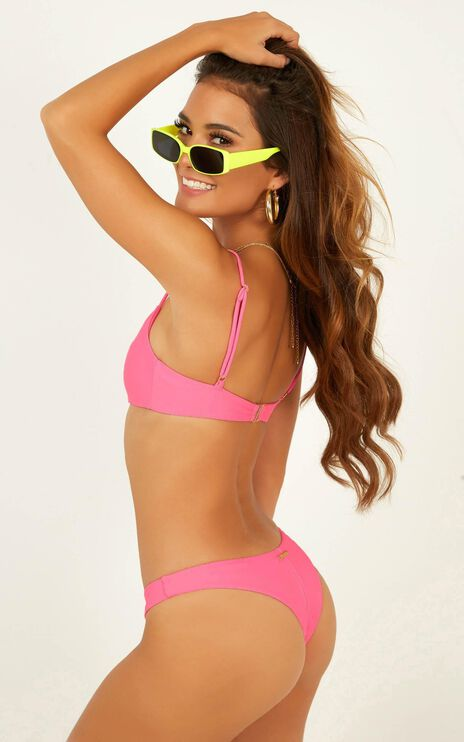 Ella Bikini Bottom In Candy