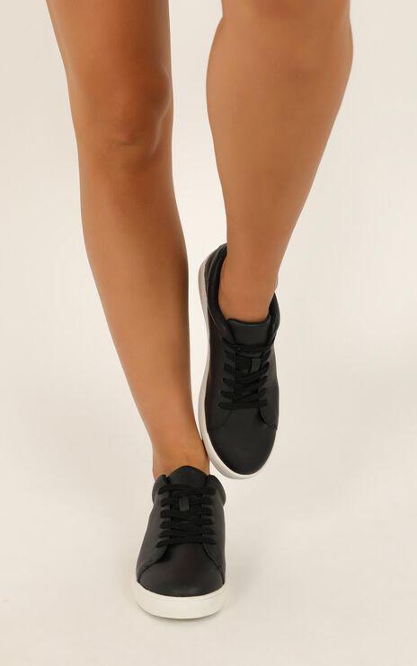 Verali - Wreckless Sneakers In Black Smooth