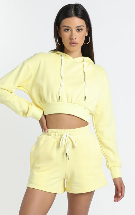 Martigues Hoodie in Yellow