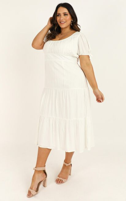 Real Integrity Dress in white - 20 (XXXXL), White, hi-res image number null