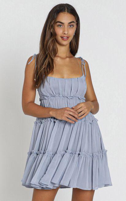 Kasey Dress in blue - 8 (S), Blue, hi-res image number null
