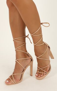 Billini - Iris Heels In Blush Micro