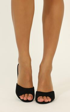Billini - Jordan Heels In Black Micro