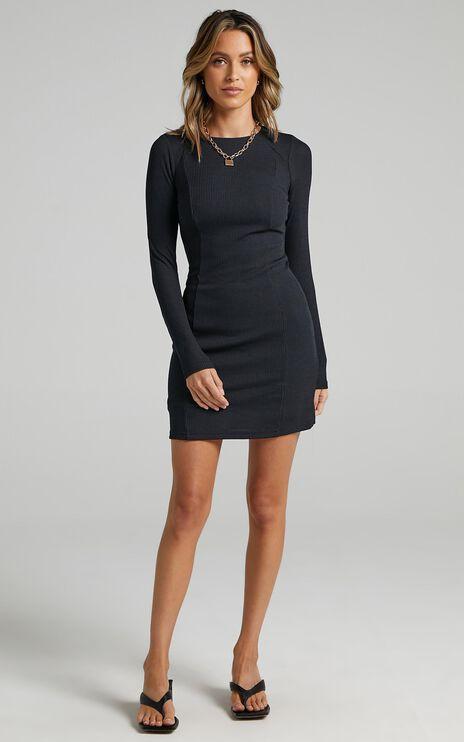 Revna Dress in Black