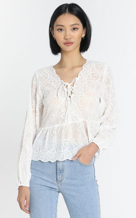 Nadia Top in White