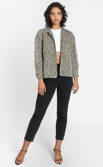 Fab Jacket in Leopard